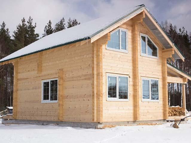 Дом из обрезного бруса | Как правильно выбрать пиломатериал