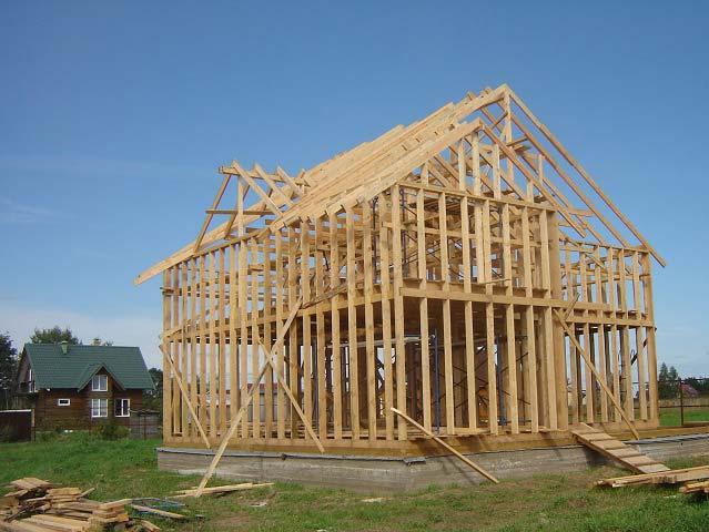 Пиломатериалы для строительства каркасных домов